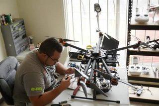 servicio tecnico reparar drone