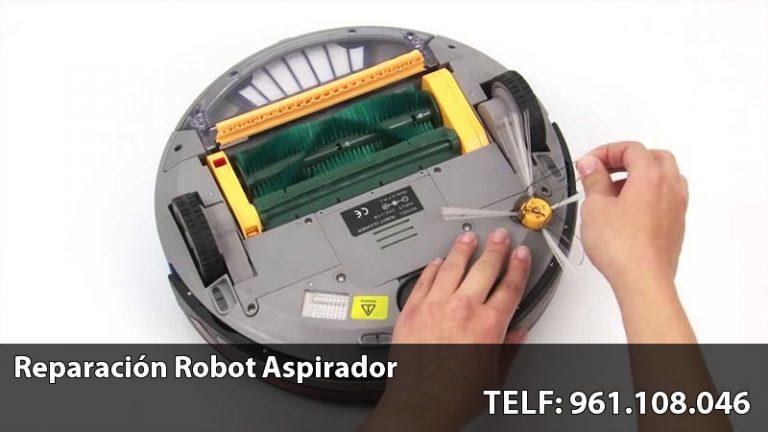 reparar robot aspirador
